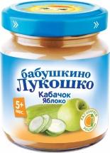 Пюре Бабушкино лукошко Кабачок-Яблоко с 5 мес 100 г